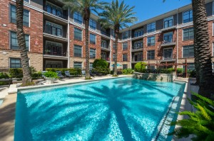 One Bedroom Apartments for Rent in Houston, TX - Pool and Pool Patio
